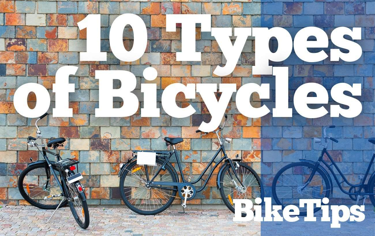 types of bicycles types of bikes